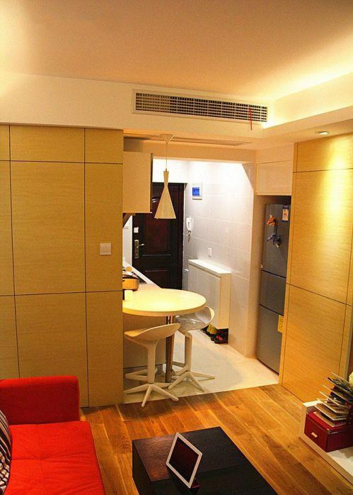 现代客厅吧台设计效果图