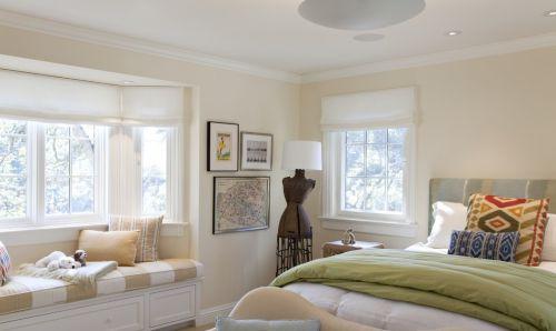 欧式卧室飘窗装修图