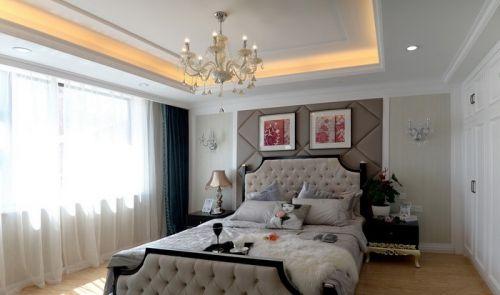 主卧室吊顶灯造型设计