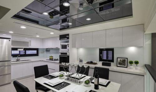 现代风格厨房吊顶装修设计图片
