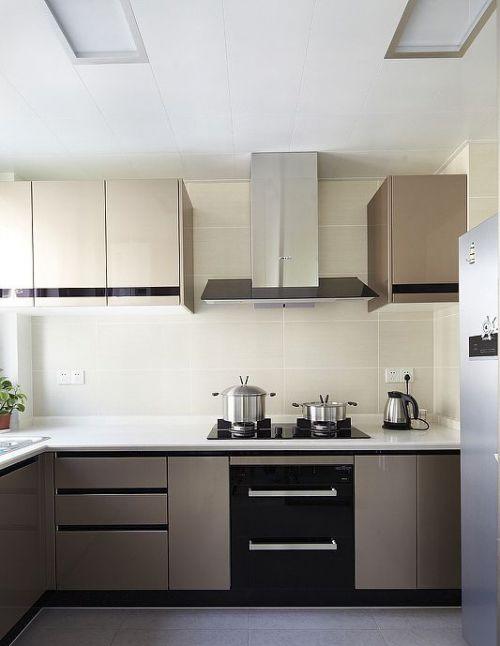 现代厨房我乐橱柜图片
