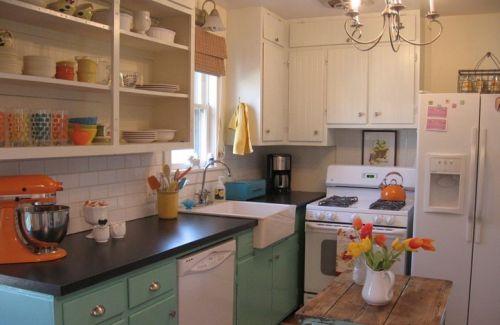 小厨房装修效果图大全2015图片