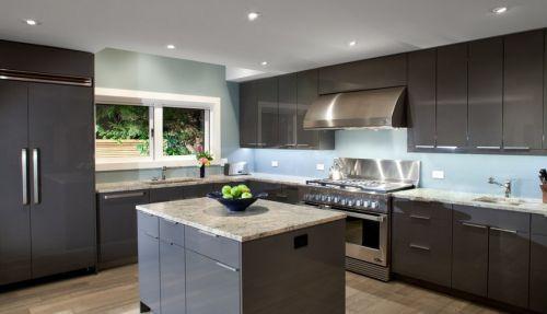 现代风格厨房美图现代装修风格整体橱柜