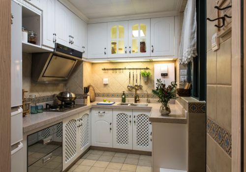 温馨地中海风格欣赏两室两厅地中海厨房美图