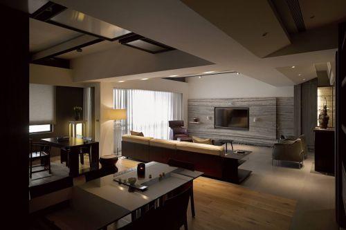 215平米大户型日式禅风公寓