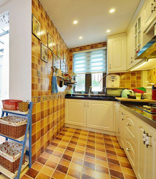 地中海风格厨房装潢大全
