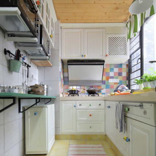 地中海海景房厨房装修设计图