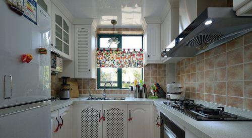 地中海装饰厨房橱柜效果图