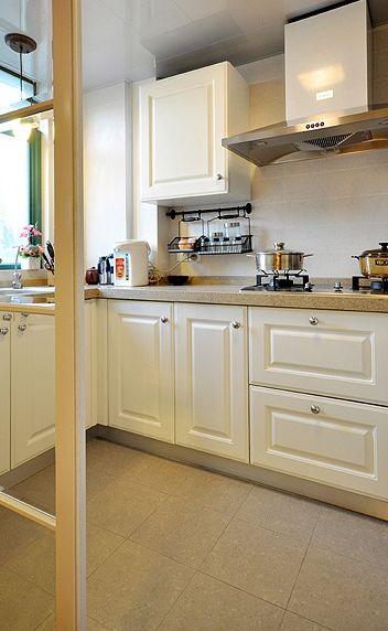 美式厨房橱柜布置
