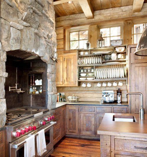 2016美式风格厨房橱柜图片赏析