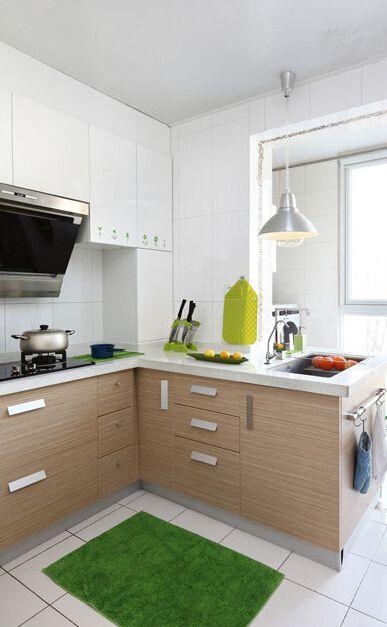 原木现代厨房装修
