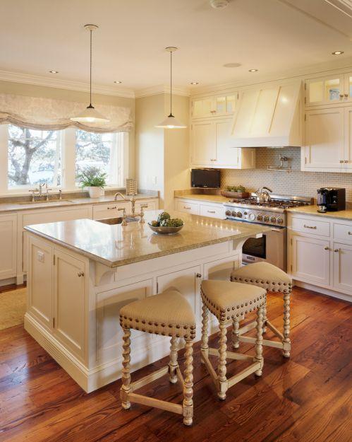 现代风格米色素雅厨房橱柜美图赏析