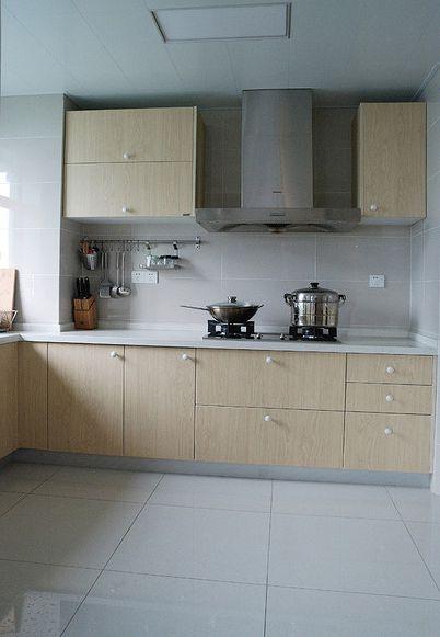 现代风格厨房橱柜装修设计图