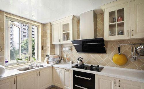 田园精致实用厨房橱柜赏析