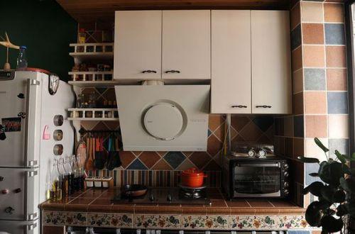 田园休闲厨房橱柜设计图
