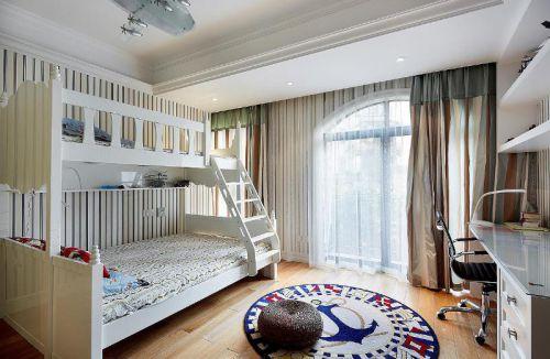 童趣可爱简约风格白色儿童房欣赏