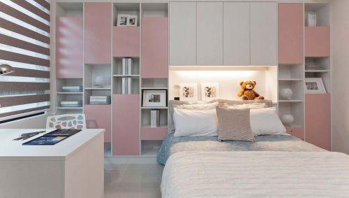 温馨简约北欧儿童房设计