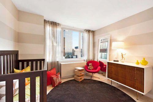 温馨米色系简约风格儿童房规划设计