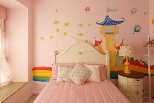 美式米色儿童房装修设计