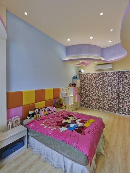 彩色混搭风格儿童房装修效果图