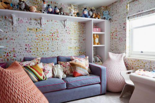 浪漫雅致可爱创意混搭儿童房装修设计
