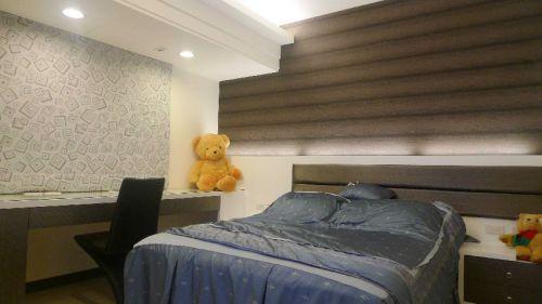 褐色混搭风格儿童房装饰设计图片