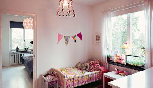 极致创意个性粉色混搭风格儿童房图片欣赏