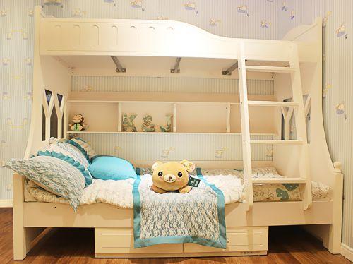 2016素雅田园米色儿童房装修效果图片