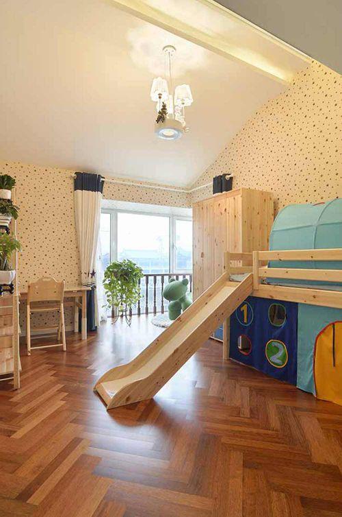 2016田园温馨儿童房设计欣赏