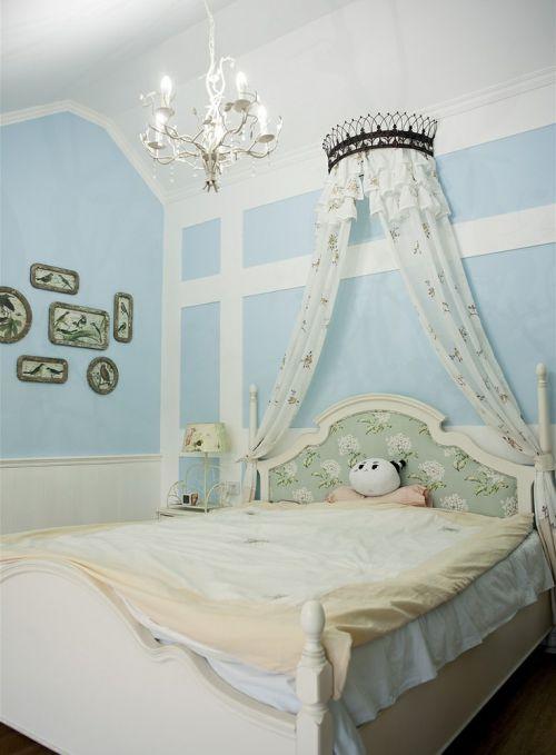 浪漫梦幻温馨田园风格儿童房设计