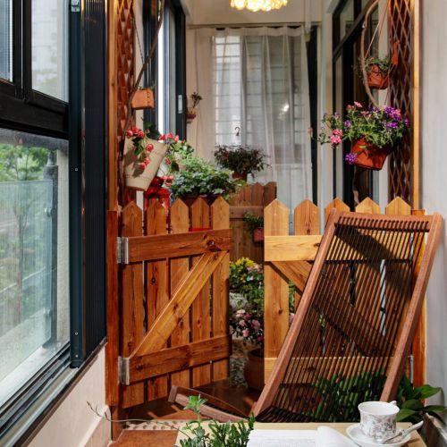 美式乡村田园风阳台设计