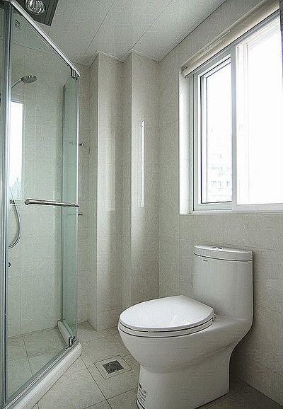 清爽舒适简约风格卫生间设计图