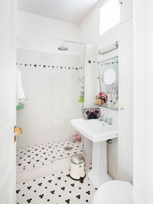 清爽自然纯白简约卫生间装修布置