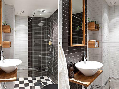 简欧卫生间家装设计效果图片
