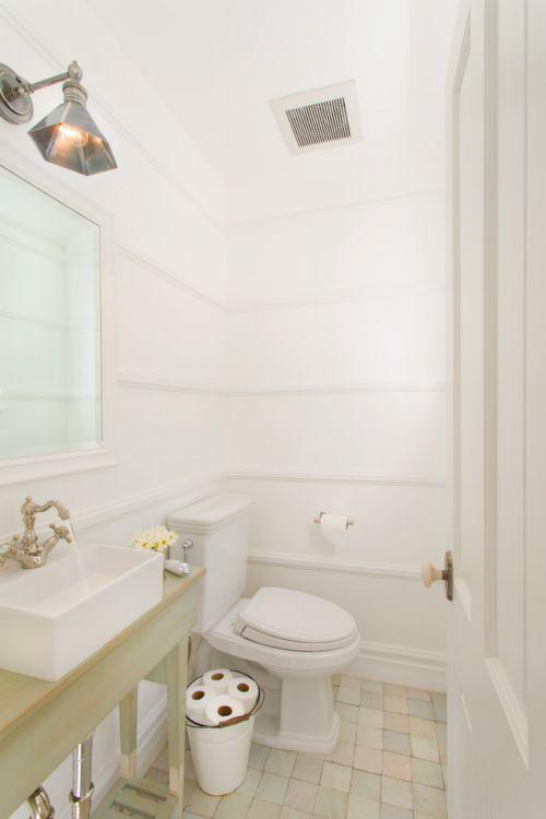 2016简约风格白色卫生间装修案例