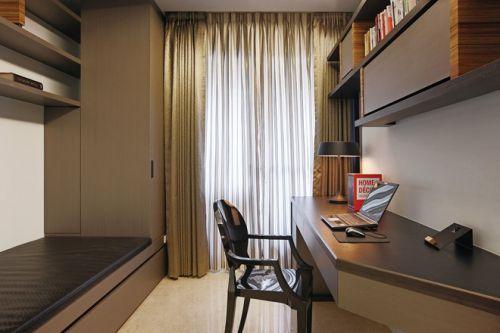 现代时尚书房设计装潢