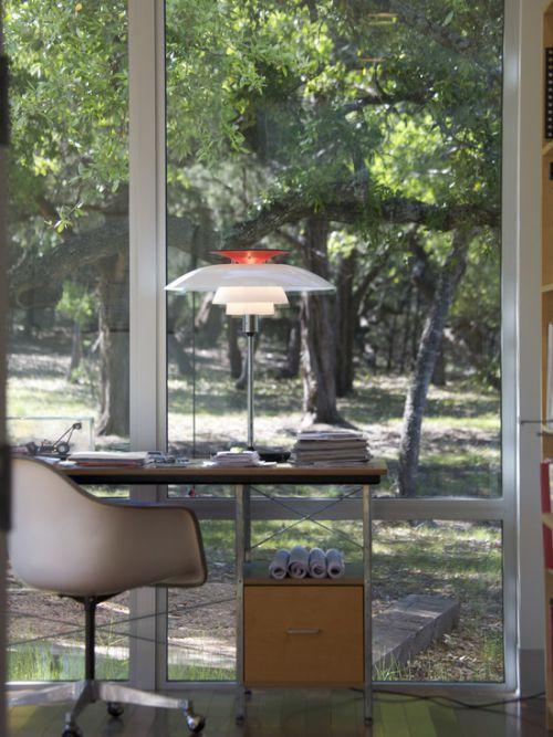 清新自然简约风格书房装饰案例