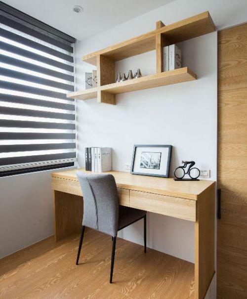 创意空间改造简约风格书房装饰设计