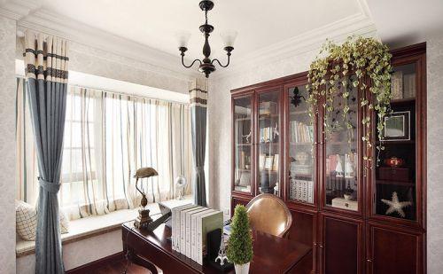 雅致美式风格书房装修布置