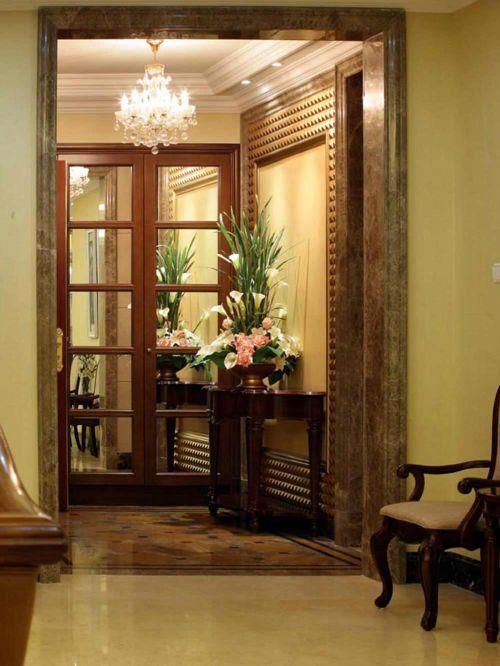 高贵奢华美式风格玄关装修