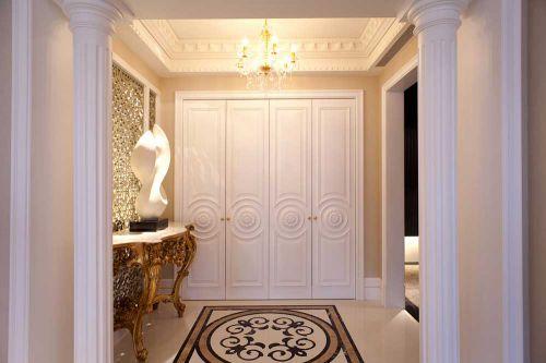 华丽新古典玄关设计图片