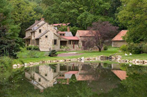 美式风格花园设计效果图欣赏