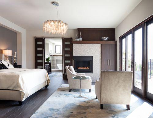 白色简约风格素雅卧室效果图欣赏