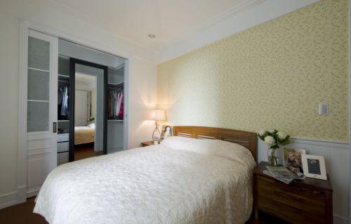 黄色简约风格卧室壁纸美图欣赏