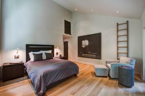简约风格米色温馨卧室效果图设计
