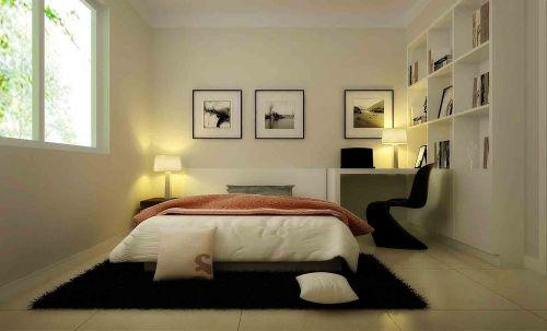现代简约卧室装修设计