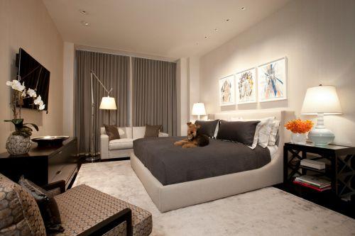 清新简约风格卧室设计案例