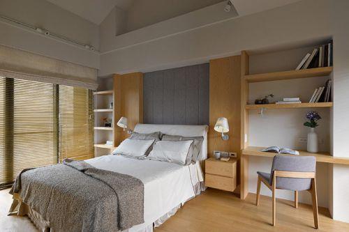 日式素雅简约风格卧室效果图设计