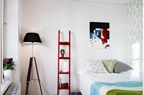简约风格白色卧室局部设计欣赏