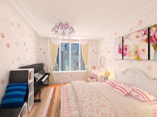 简约米色卧室装饰设计图片